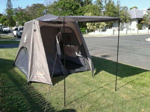 image & Coleman Instant Up tent 4P (4 person) | Blokeu0027s Lens