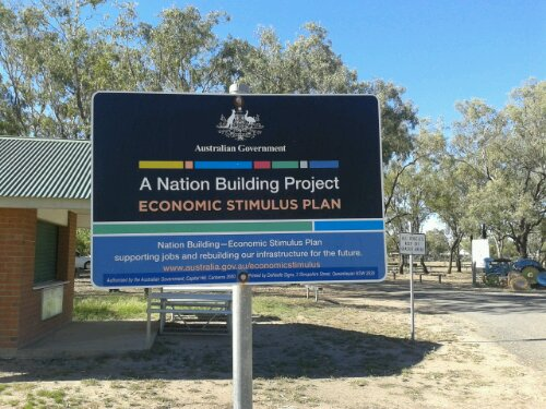 A nation building project? Really?