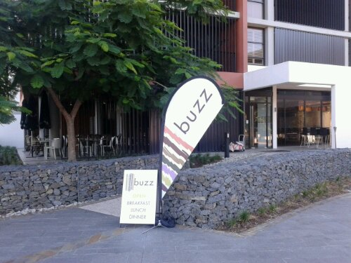 Nearby cafe for parents to get a coffee