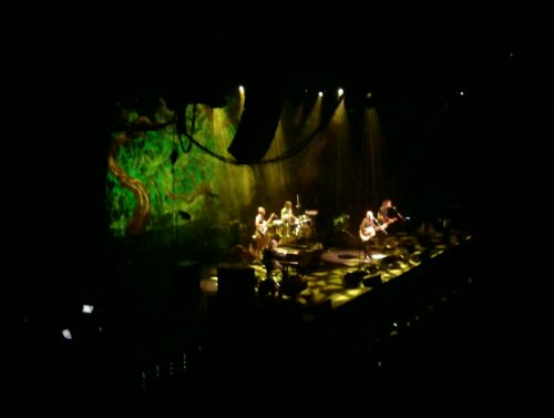 Neil Finn and Paul Kelly in concert at the Brisbane Convention and Exhibition Centre