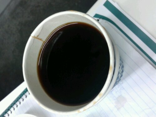 Merlo long black coffee