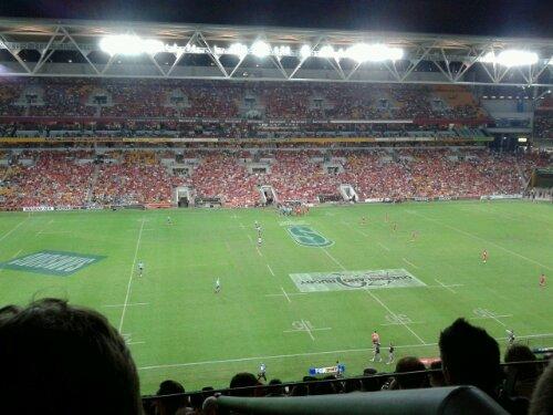 Attendance was around 35,000 people