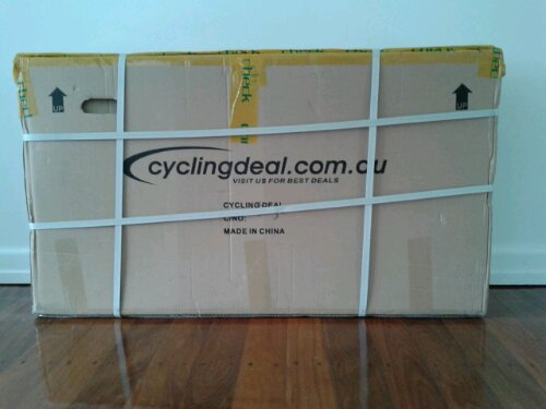Boxed Cycling Deal fixie/track frame TF-56W