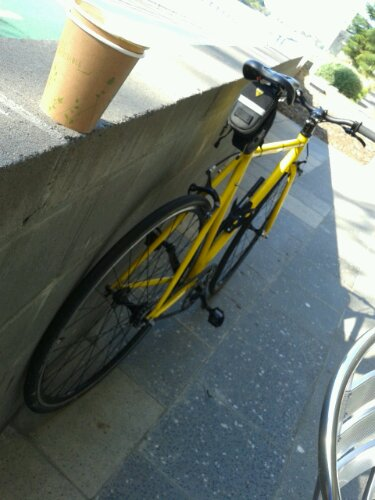 Bumblebee: my Cell Bikes fixie (that is actually a singlespeed)