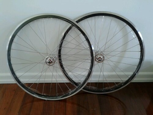 Marvinator wheelset still in their plastic wrap