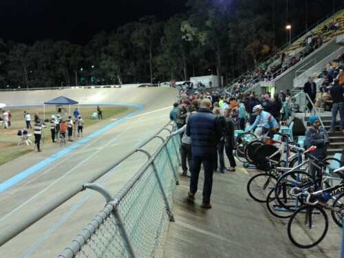 A great turnout for the Repsych Cycling Development Winter Track Racing Series Round 6 at Chandler Velodrome